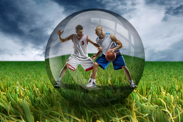 multisport - basketballer - artificial grass - GrassPartners b.v.